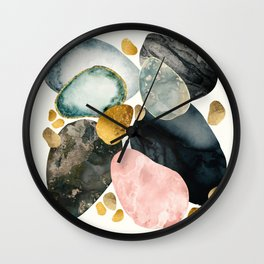 Pebble Abstract Wall Clock