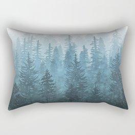 My Misty Secret Forest Rectangular Pillow