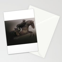 Double Exposure Horse 2 Stationery Cards
