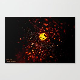 Luces Canvas Print