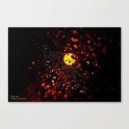 Luces Canvas Print