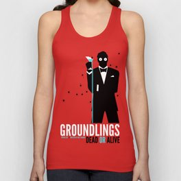 Groundlings: Dead or Alive Commemorative Shirt Unisex Tank Top