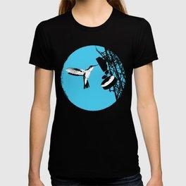 communication bird T-shirt