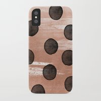 rose gold iPhone & iPod Cases featuring rose gold #2 by LEEMO