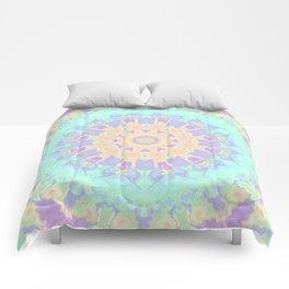 Rainbow  Kaleidoscope Comforters