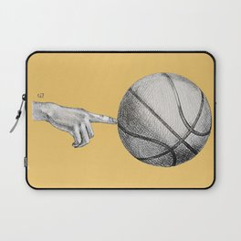 Basketball spin orange Laptop Sleeve