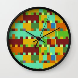 Chopin Fantaisie Impromptu (Intense Colours) Wall Clock