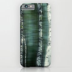 birch trees iPhone 6s Slim Case