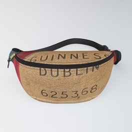 Guinness beer barrel - great man cave art! Fanny Pack