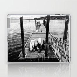 Sittin' on the Dock of the Bay Laptop & iPad Skin