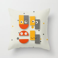 Cute is your uh oh Throw Pillow