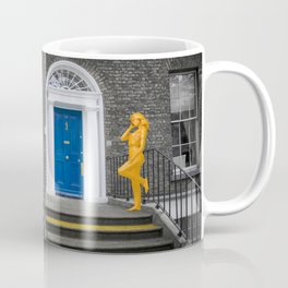 Blue and Yellow Front Doors Coffee Mug