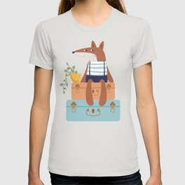 Fox on Vacation T-shirt