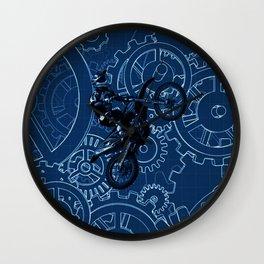 buggy racing Wall Clock