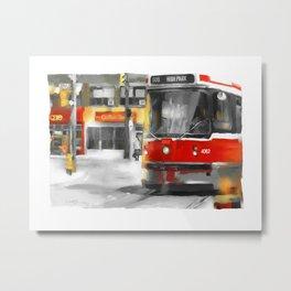 Toronto Streets 1 Metal Print