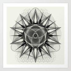 styr stryy monochrome Art Print