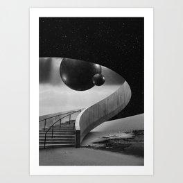 The Hall I Art Print