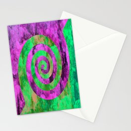 Could Spirals   Stationery Cards