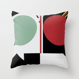 Kamen Rider - Shadow Moon and Black Throw Pillow