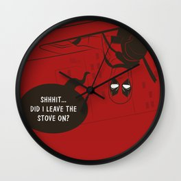 Chimichangas Wall Clock