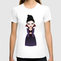 regina mills T-shirts featuring Kokeshi Regina by Pendientera