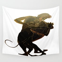 Hercules and The Nemean Lion Wall Tapestry