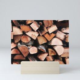 Timber Mini Art Print
