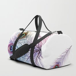 Peacock Dancer Duffle Bag