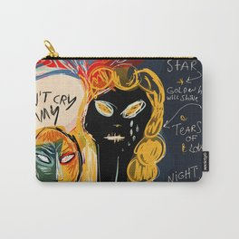 Don't cry Mommy Carry-All Pouch