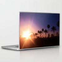 coachella Laptop & iPad Skins featuring Coachella Sunset by Laura Hanson