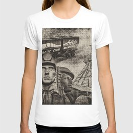 Mining Tribute Antique 1 T-shirt