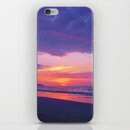 Broken sunset by #Bizzartino iPhone Skin