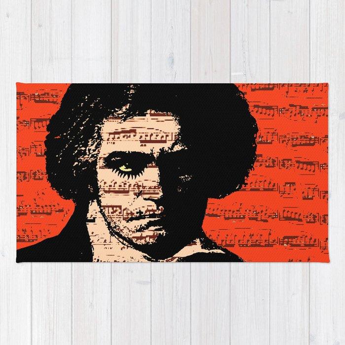 A Clockwork Beethoven  Rug