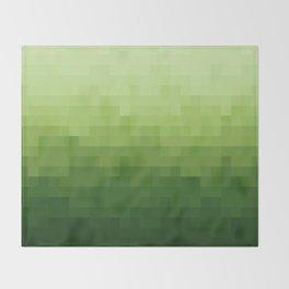 Gradient Pixel Green Decke