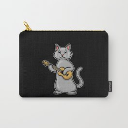Ukulele Cat Carry-All Pouch