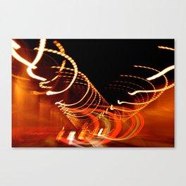 Flashing, Lights Canvas Print