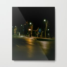 Waiting for a bus // Subotica // Serbia Metal Print