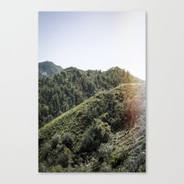 Up on the Mountain Top Canvas Print