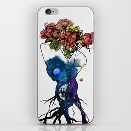 Roots of love. iPhone Skin