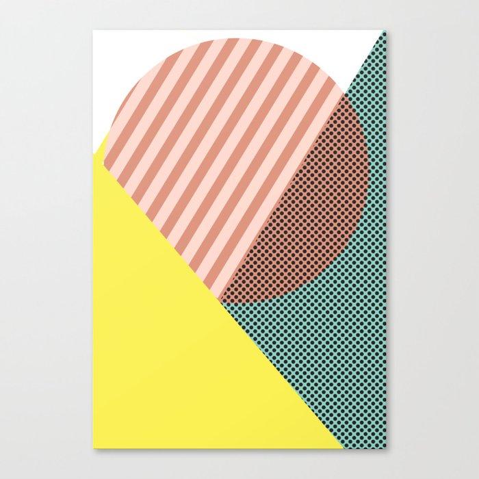 Minimal Complexity v.2 Canvas Print