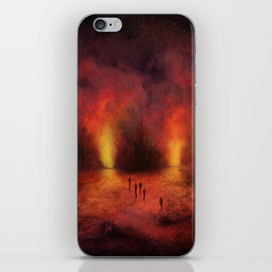 Leaving the past iPhone & iPod Skin
