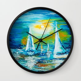 REGATTA Wall Clock