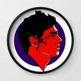 Evan Peters Wall Clock