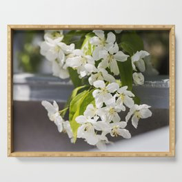 Crabapple Blossoms 14 Serving Tray