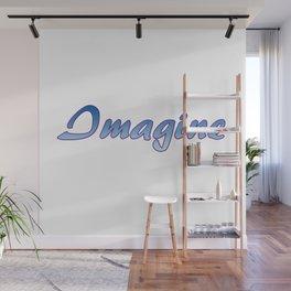 Inspiration Words...Imagine Wall Mural