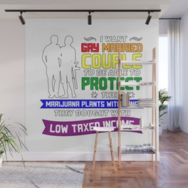 Libertarian Gifts Gay Married Couples To Protect Wall Mural