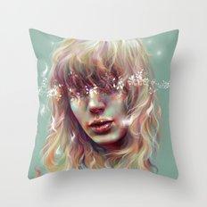 Enlighten Me Throw Pillow