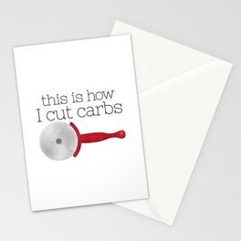 This Is How I Cut Carbs Stationery Cards