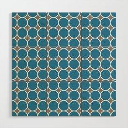 ponovan (blue) Wood Wall Art
