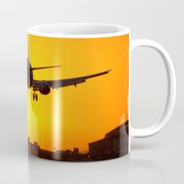 Beautiful 737 Sunset Coffee Mug